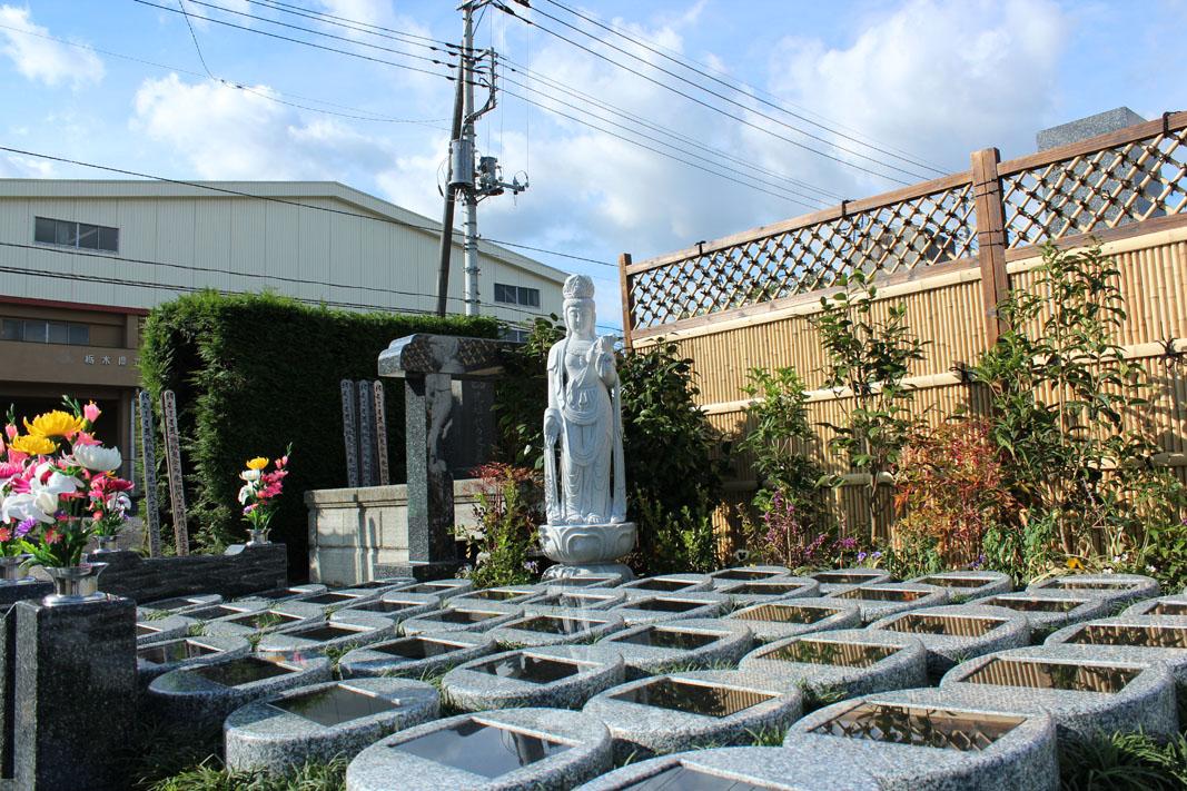 善念寺の樹木葬