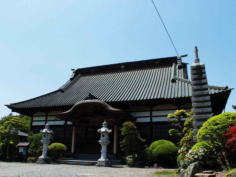 善念寺本堂
